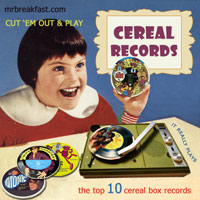 Top 10 Vintage Cereal Box Records