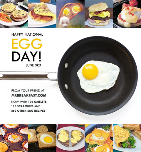 June 3rd is National Egg Day