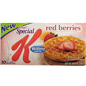 Special K Red Berries Waffles