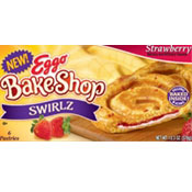 Eggo BakeShop Swirlz - Strawberry
