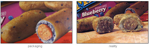 Reality vs Packaging