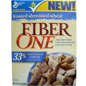 Fiber One Frosted Shredded Wheat