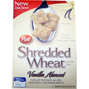 Vanilla Almond Shredded Wheat