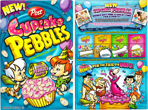 Cupcake Pebbles Review | MrBreakfast com