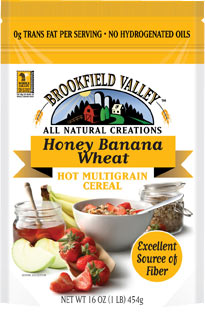 Brookfield Valley Honey Banana Wheat Hot Multigrain Cereal