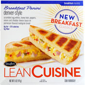Lean Cuisine Breakfast Paninis