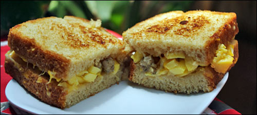 Sausage, Egg & Cheese Lean Cuisine Breakfast Panini