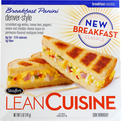 Denver-Style Lean Cuisine Breakfast Panini