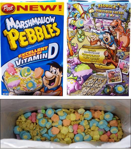 Marshmallow Pebbles Review | MrBreakfast.com Bowl Of Fruity Pebbles Calories