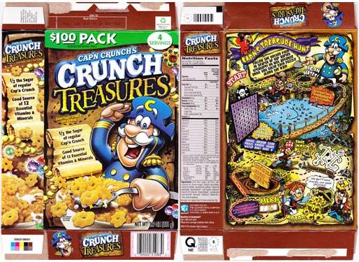 Cap'n Crunch's Crunch Treasures Cereal