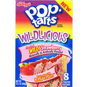 Strawberry Wildlicious Pop-Tarts