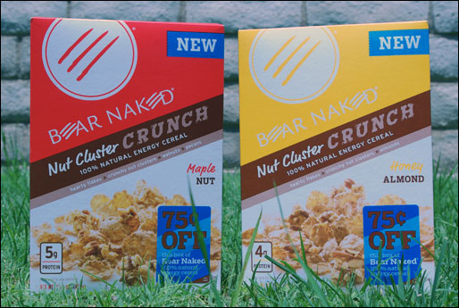 Bear Naked Nut Cluster Crunch Cereals