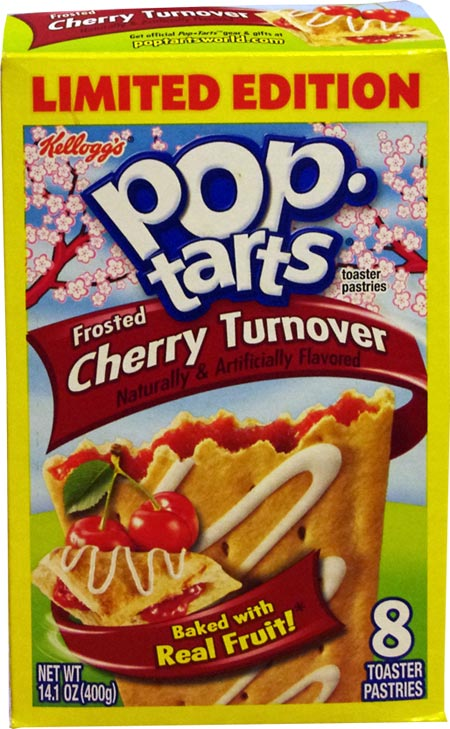 Cherry Turnover Pop Tarts Review Mrbreakfast Com