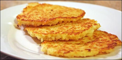 Northern Pines Potato Pancakes Prepared