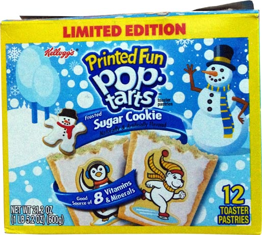 Sugar Cookie Pop-Tarts Box