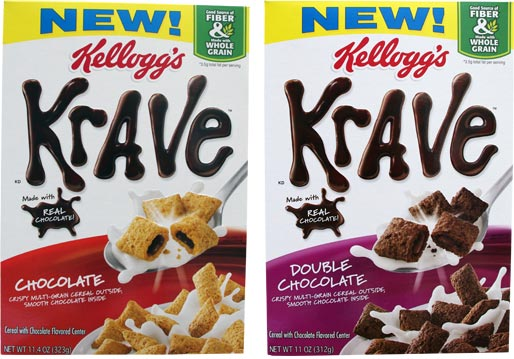 U.S. Varieties of Krave Cereal