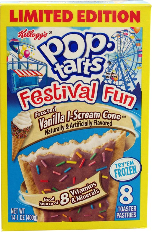 Vanilla I-Scream Cone Pop-Tarts