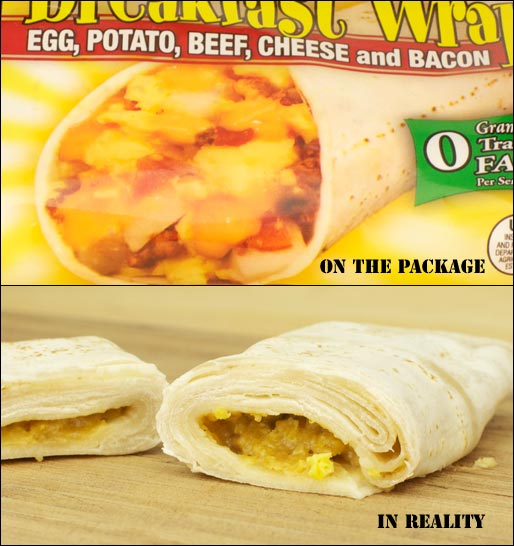 Tina's Breakfast Wraps Product Review