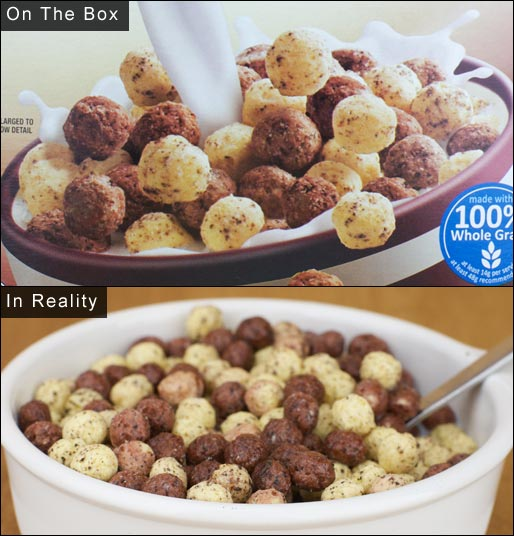 Hershey's Cereal In Reality