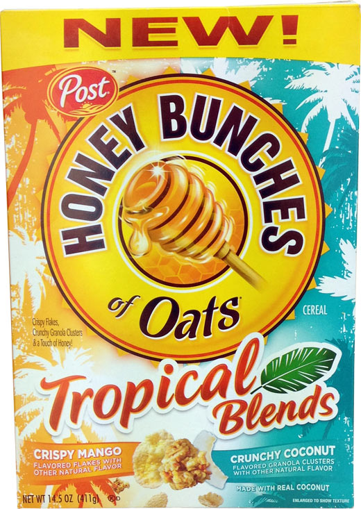 Honey Bunches Of Oats: Tropical Blends Cereal Review