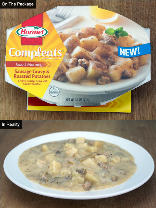 Sausage Gravy & Roasted Potatoes Compleats Product Review