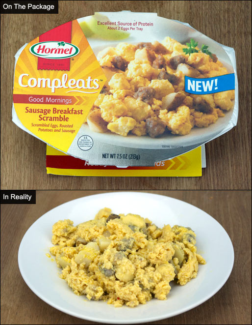 Sausage Breakfast Scramble Compleats Product Review