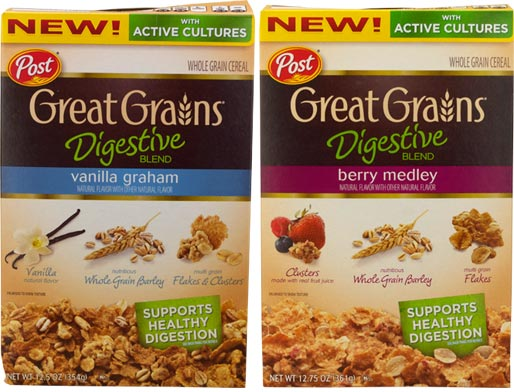 Great Grains Digestive Blend Cereal Product Review