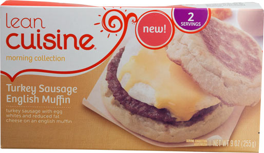 Lean Cuisine Turkey Sausage English Muffin Product Review