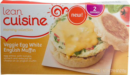 Lean Cuisine Veggie Egg White English Muffin Product Review