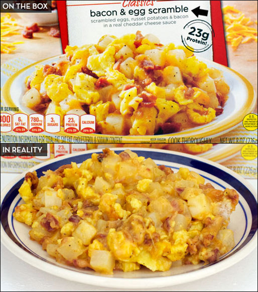 Stouffer's Morning Classics Bacon And Egg Scramble
