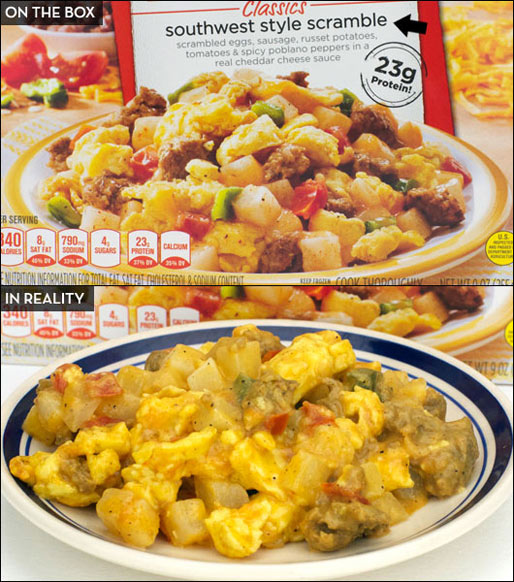 Stouffer's Morning Classics Southwest Style Scramble