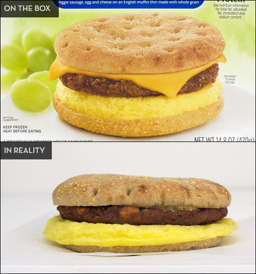 MorningStar Sausage, Egg & Cheese Sandwich Product Review