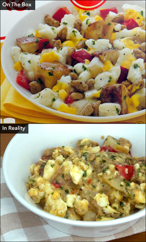 Lean Cuisine Turkey Sausage Scramble Product Review