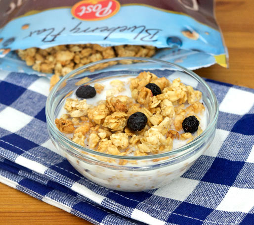 Blueberry Flax Great Grains Granola Product Review