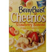 Strawberry Banana Berry Burst Cheerios