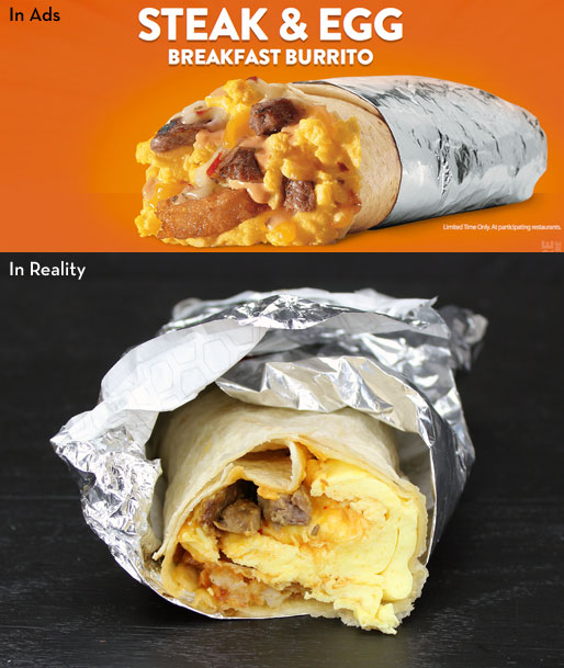 Jack In The Box Steak & Egg Breakfast Burrito Product Review
