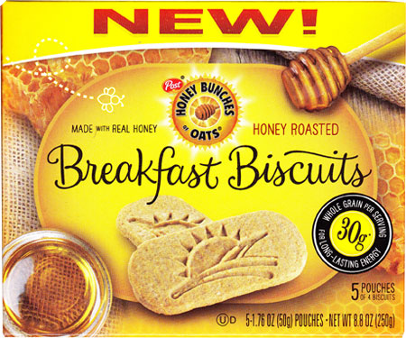 Honey Roasted Honey Bunches of Oats Breakfast Biscuits Product Review