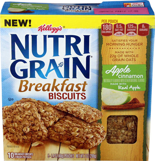Apple Cinnamon Nutri-Grain Breakfast Biscuits Product Review