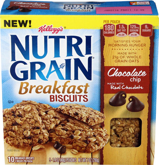Chocolate Chip Nutri-Grain Breakfast Biscuits Product Review