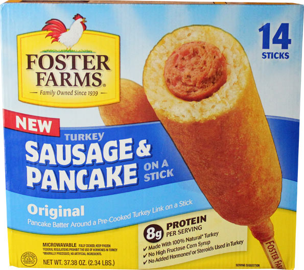 Foster Farms Sausage & Pancake On A Stick Product Review