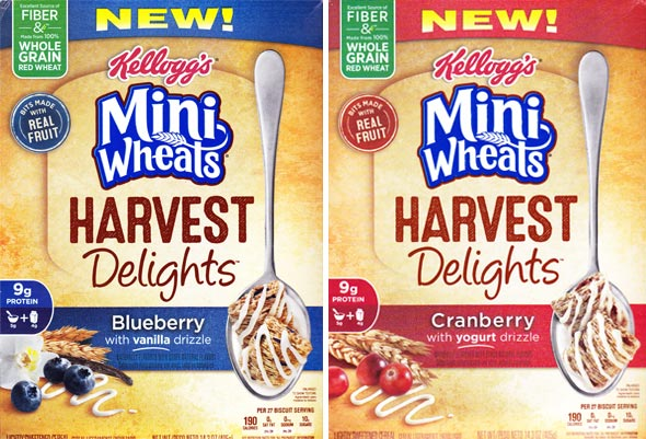 Mini Wheats Harvest Delights Product Review