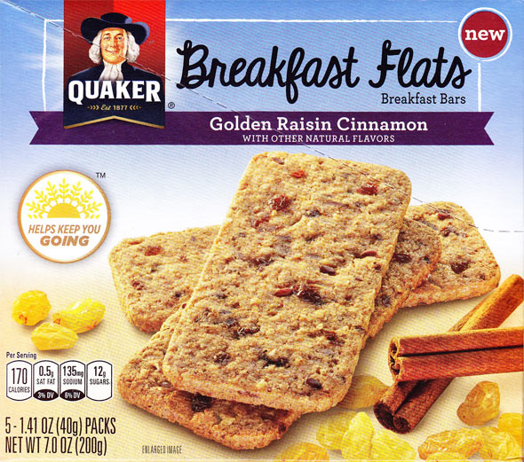 Golden Raisin Cinnamon Breakfast Flats Product Review