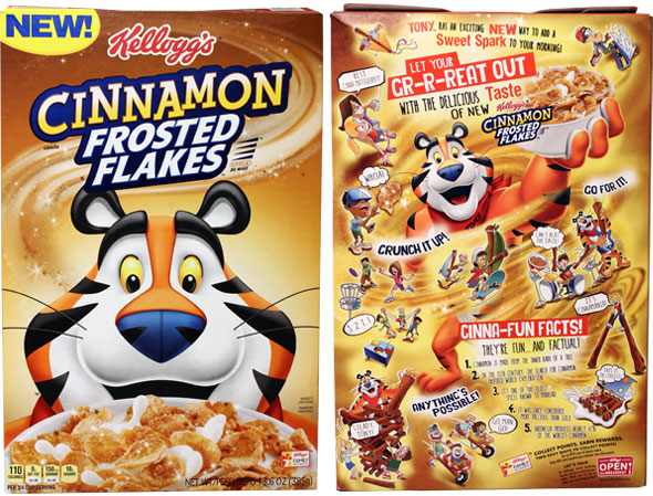 MCinnamon Frosted Flakes Product Review