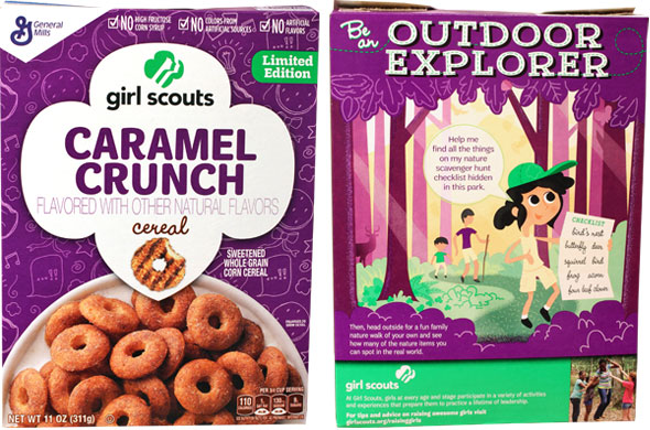 Girl Scouts Caramel Crunch Cereal Product Review