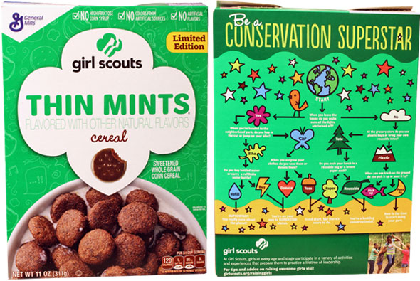 Girl Scouts Thin Mints Cereal Product Review