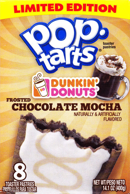 Dunkin' Donuts Frosted Chocolate Mocha Pop-Tarts Product Review