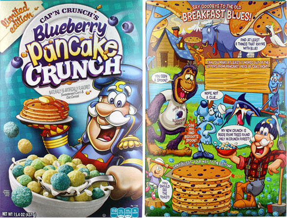 Cap'n Crunch's Blueberry Pancake Crunch Product Review