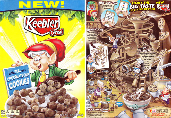 Keebler Cereal Product Review