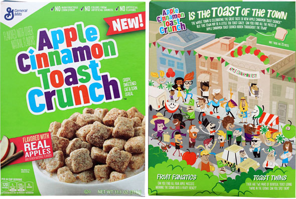 Apple Cinnamon Toast Crunch Cereal Product Review