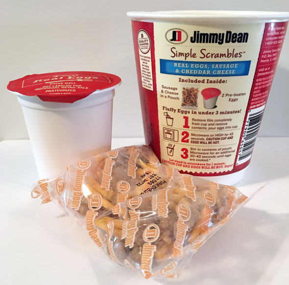 Jimmy Dean Simple Scrambles Review